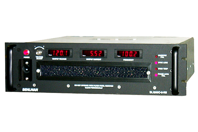 RAILROAD AC SIGNAL SOURCE SERIES, Frequency Converter, Inverter and DC-DC Power Supplies: