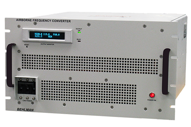 MODIFIED STANDARD COTS FREQUENCY CONVERTERS FOR AIRBORNE, SHIPBOARD, GROUND AND MOBILE APPLICATIONS